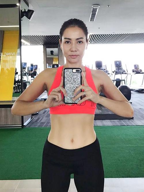 Tuyet chieu de so huu body 'dot mat' cua Thu Minh
