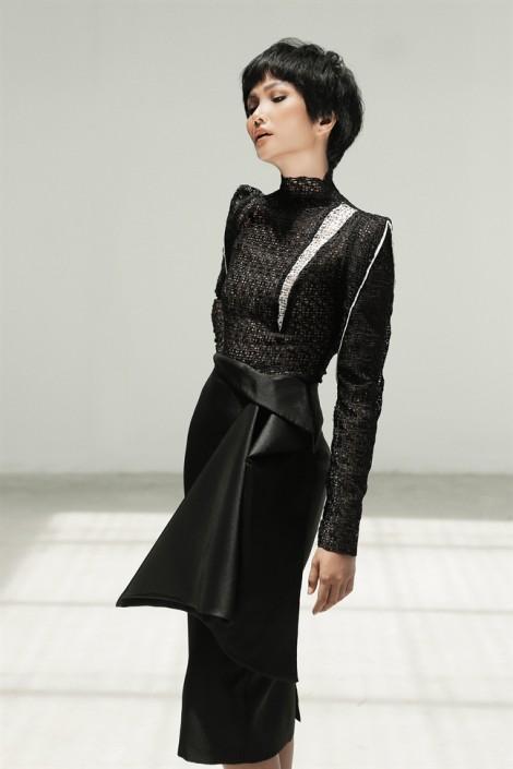 H'Hen Niê gợi ý mặc sang trọng với sắc đen