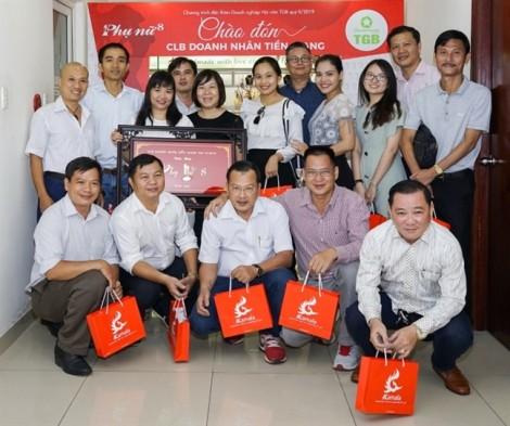 Đoàn doanh nhân Tiền Giang tham quan một số công ty tại TP.HCM