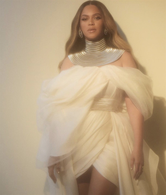 Beyonce mac do cua nha thiet ke Viet