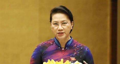 Chủ tịch Quốc hội Nguyễn Thị Kim Ngân: 'Quốc hội ngày càng bám sát thực tiễn cuộc sống'