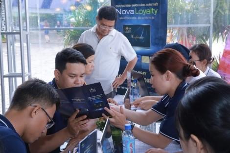 Thẻ thành viên NOVALOYALTY 'trao tay' hàng ngàn khách hàng tại Novaland Expo 2019