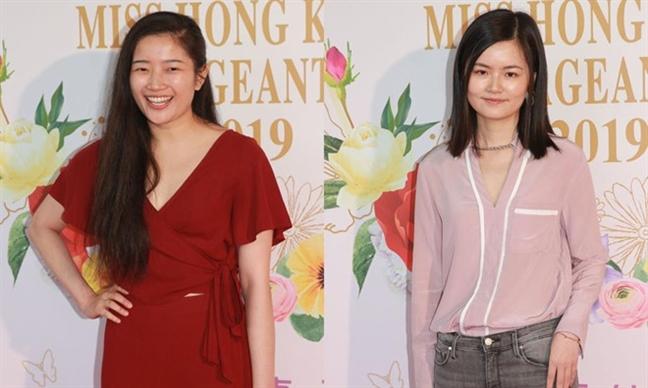 Bi nhan xet dung mao nhu dan ong, thi sinh 'Hoa hau Hong Kong' phan ung