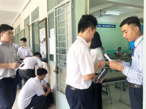 Ghi chép qua ngày đầu của kỳ thi THPT quốc gia