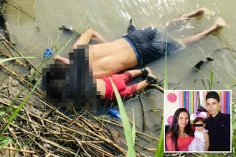 Cha con người Salvador chết đuối thảm thương khi chạm chân vào 'đất hứa'