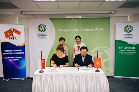 Quỹ Quốc tế Singapore và Hội Hữu nghị Việt Nam – Singapore gia hạn biên bản ghi nhớ quan hệ hợp tác hữu nghị