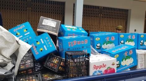 Bắt xe trái cây nhập lậu từ TP.HCM chở lên Tây Nguyên tiêu thụ