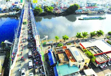 Sài Gòn, thành phố đầy sông nhưng đường thủy lại tắc