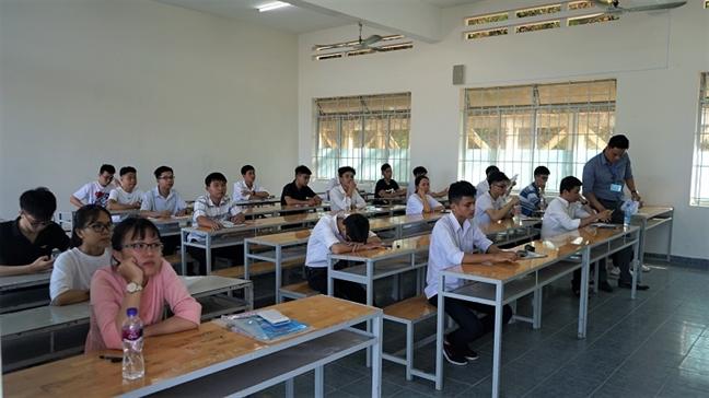Hoc sinh cua 1.214 truong pho thong thi danh gia nang luc