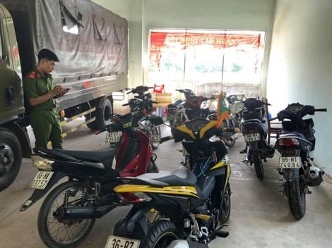 Tạm giữ 31 xe máy của nhóm 'quái xế' tổ chức tụ tập đua xe trái phép