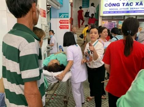 Cháy lớn, BV Chấn thương Chỉnh hình TP.HCM náo loạn sơ tán bệnh nhân