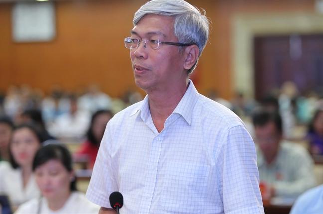 PGS.TS Phan Thi Hong Xuan de xuat moi nha trang bi mot lu nuoc de... chong ngap