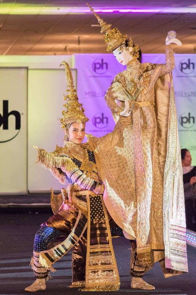 Trang phuc truyen thong Thai Lan, du pha cach den dau van dep va dam chat Thai