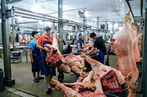Giá thịt heo nhập khẩu chỉ 30.000 đồng/kg nhưng không bán ở chợ
