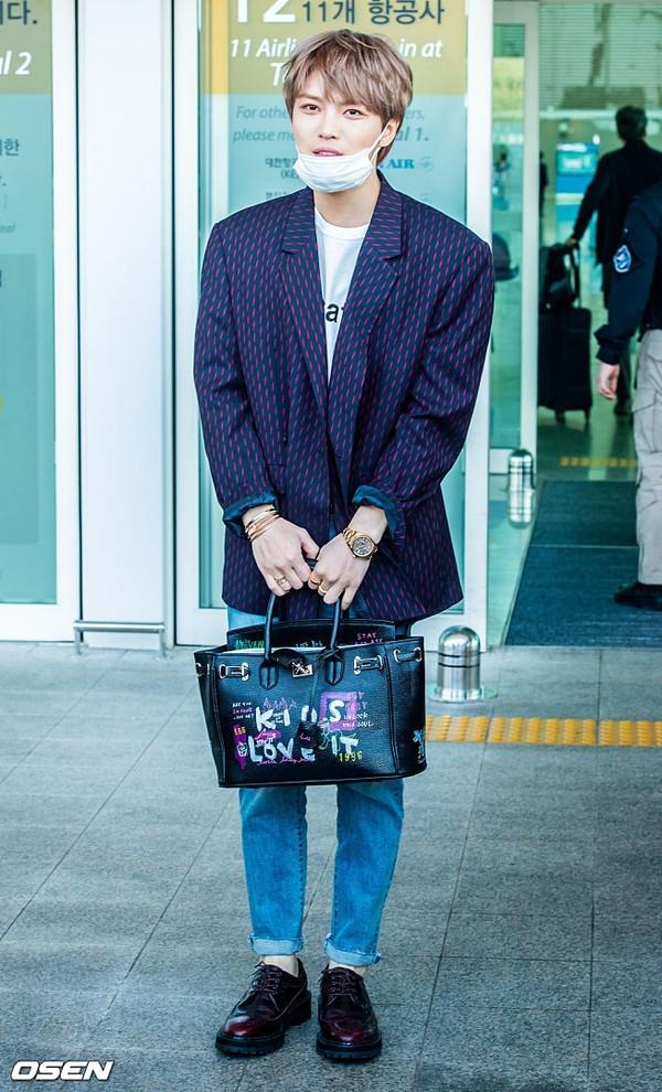 Thoi trang don gian ma cuc 'chat' cua Kim Jae Joong