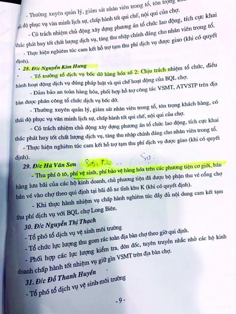 Dấu hỏi về trung tá công an trong vụ xử băng nhóm bảo kê chợ Long Biên