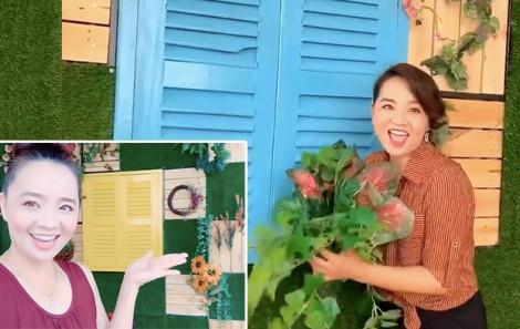 Clip: Góc 'sống ảo' tại gia tự tay diễn viên Hoài An thực hiện