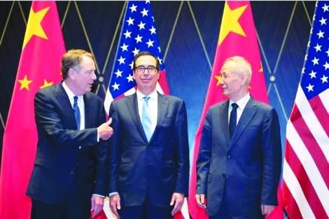 Đàm phán thương mại Mỹ - Trung có bước tiến triển