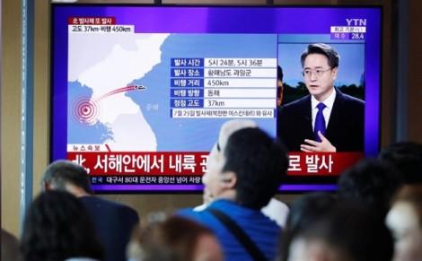 Triều Tiên tiếp tục thử vũ khí để phản đối cuộc tập trận chung Mỹ - Hàn