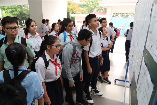 TP.HCM chinh thuc khong tang hoc phi trong nam hoc moi
