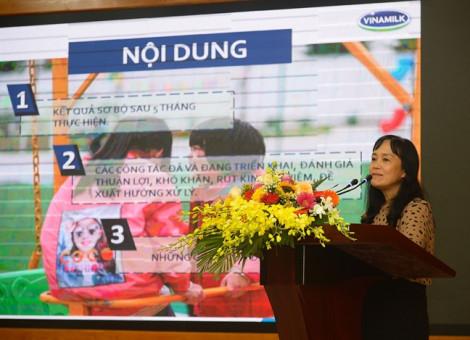 Hà Nội tham gia chương trình Sữa học đường, đạt tỷ lệ 87,7%