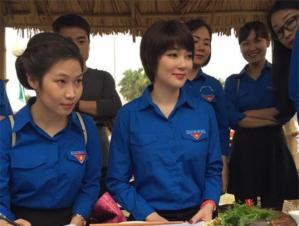 Nhan sac cua hoa hau Nguyen Thi Huyen sau 15 nam dang quang