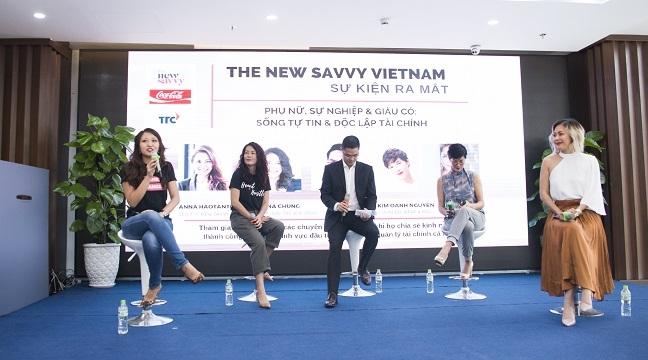 Ra mat 'The New Savvy Vietnam' va chuong trinh tu van tai chinh huong den phu nu