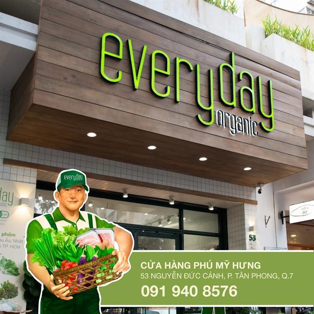 Everyday Organic dong hanh cung Ngay hoi xanh Phu My Hung 2019