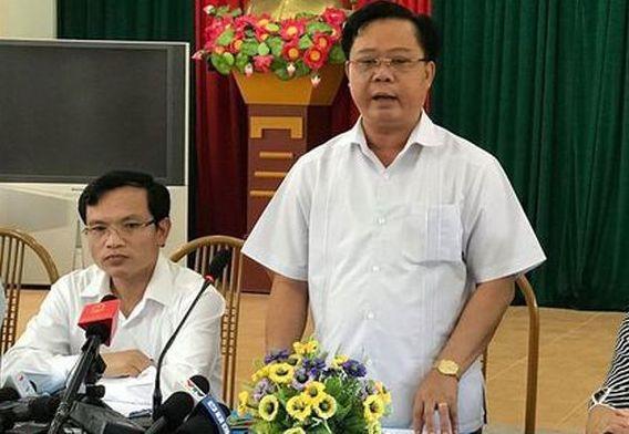 Thu tuong ky luat canh cao Pho chu tich tinh Son La vu gian lan diem thi