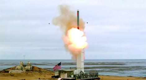 Mỹ muốn triển khai tên lửa thông thường tầm trung ở khu vực Thái Bình Dương