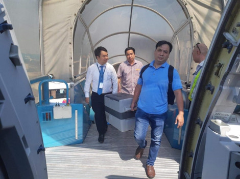 Ghép tim thành công cho bệnh nhân ở Huế bằng quả tim được chở từ Hà Nội