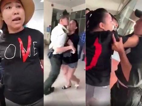 Nữ đại úy công an chửi bới tại sân bay Tân Sân Nhất bị cấm bay 12 tháng