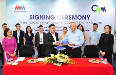 MM Mega Market Việt Nam xuất khẩu nông sản Việt sang Singapore
