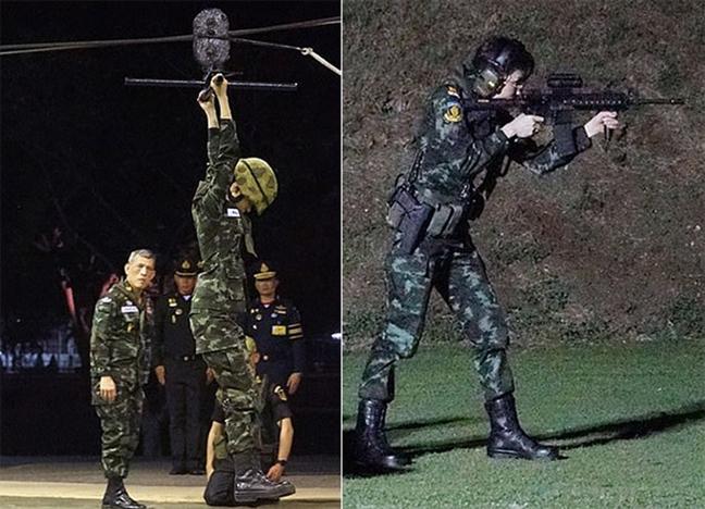 Chuyen hoang gia Thai Lan: Chong chung chang co ai vui