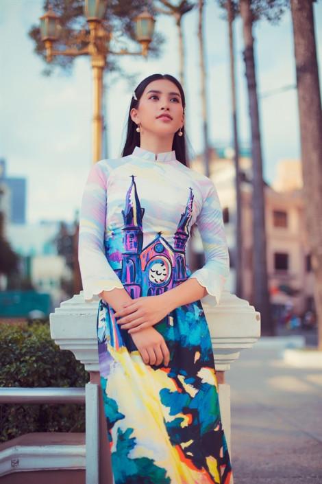 Kiến trúc Sài Gòn lên áo dài