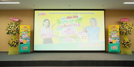 Acecook Việt Nam tổ chức quay số đợt 2 chương trình Ăn Hảo Hảo, dạo đảo Maldives