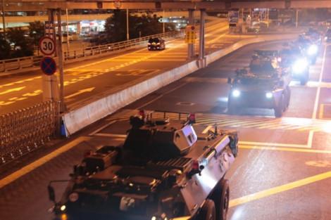 Quân đội Trung Quốc tiến vào Hồng Kông