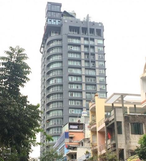 Cao ốc 22 tầng giữa trung tâm quận 1 ngang nhiên cơi nới nhiều năm vẫn chưa bị xử lý