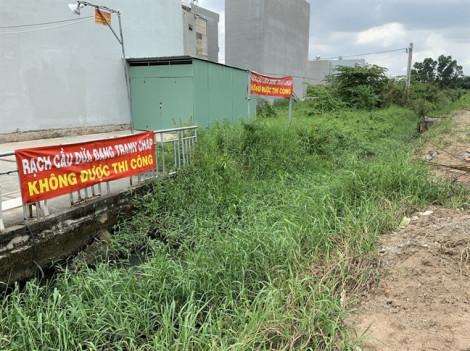 Dân khốn khổ vì rạch Cầu Dừa bị dự án Thăng Long Home xóa sổ