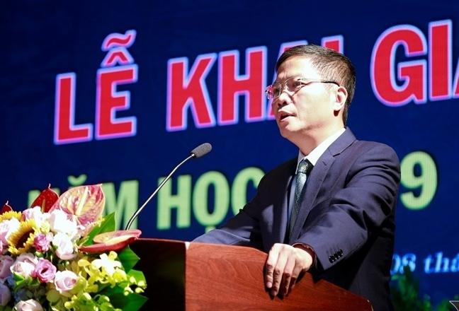 Bo truong Bo Cong Thuong tang tho thay tro DH Cong nghiep Ha Noi