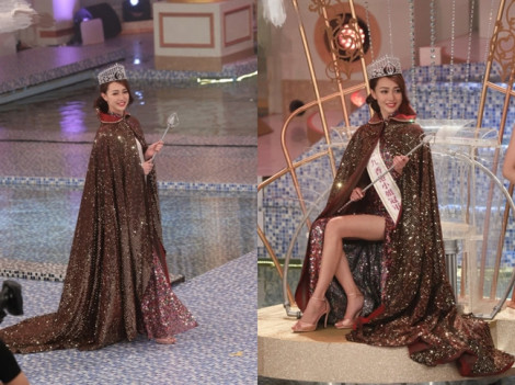 Vừa đăng quang, tân Hoa hậu Hồng Kông đã bị chê kém sắc
