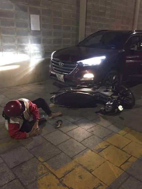 Xác định nguyên nhân thanh niên lái ô tô húc ngã đôi vợ chồng ở quận 4