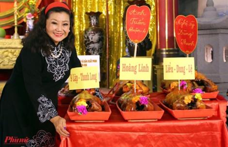 NSND Kim Cương: 'Ngày giỗ Tổ nhắc chúng tôi nhớ trách nhiệm của mình với sân khấu'