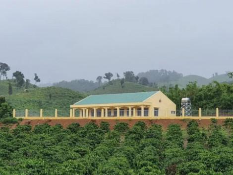 Trường xây xong đã lâu nhưng không có giáo viên