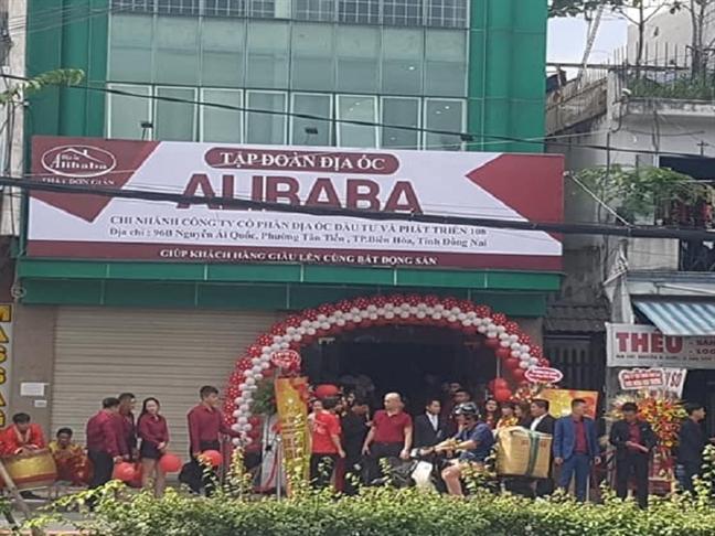 De nghi thao do bien hieu Tap doan dia oc Alibaba trong vong 10 ngay