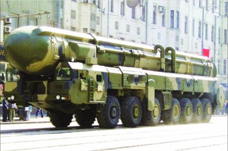 Trung Quốc có thể  sắp ra mắt tên lửa đạn đạo liên lục địa mới