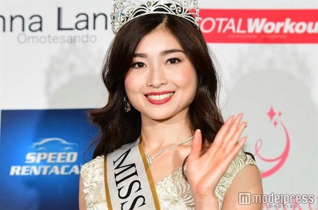 Tan 'Hoa hau Nhat Ban 2019' chi cao 1m55