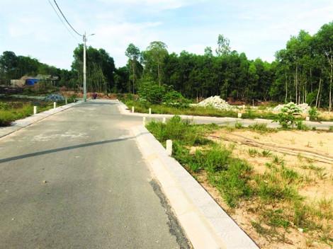 Công ty Đất Xanh Bắc Miền Trung tự vẽ dự án trên đất quy hoạch cây xanh để bán