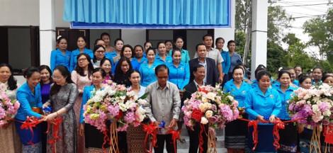 Khánh thành nhà lưu trú cho học viên các lớp nghề tại Lào