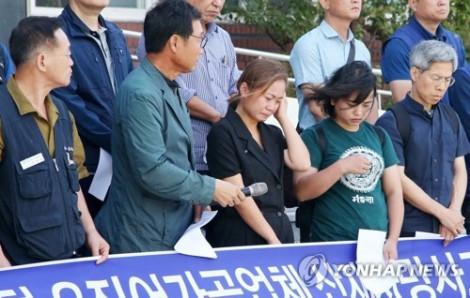 Gia đình lao động Việt tử nạn tại Hàn Quốc không chấp nhận bồi thường